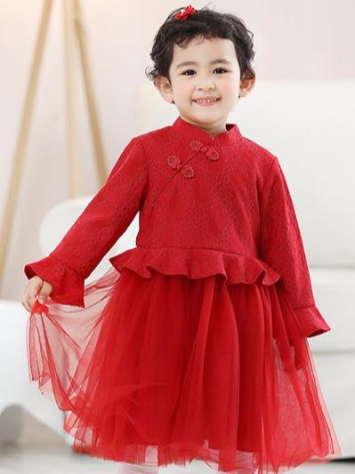 中国风洋气连衣裙