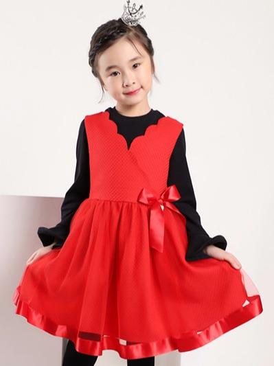 女童公主连衣裙
