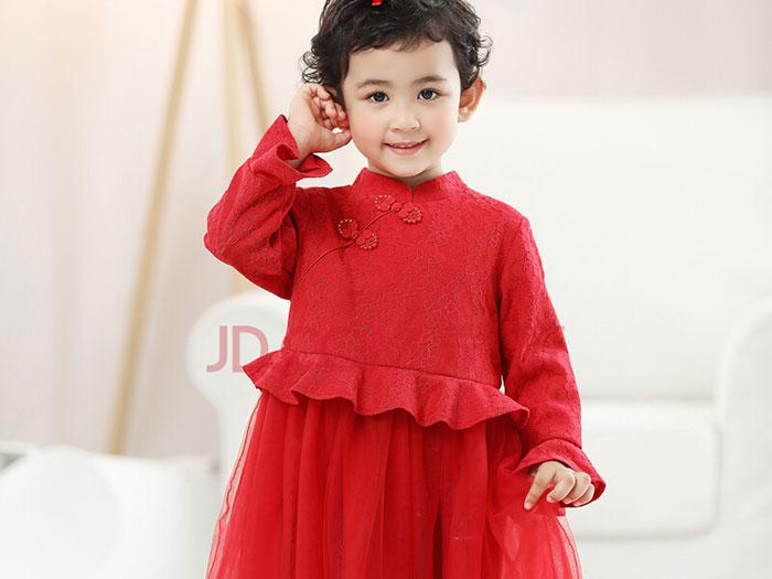 帕贝莎娜女童公主裙,法国设计师精心打造